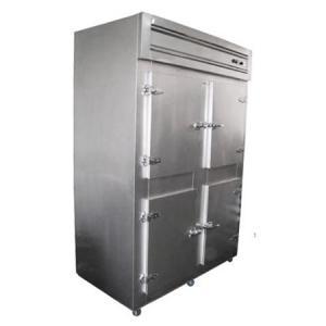 Cámara frigorífica de 4 puertas en acero inox- nacional