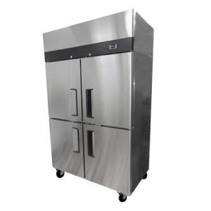 Cámara frigorífica de 4 puertas en acero inoxidable