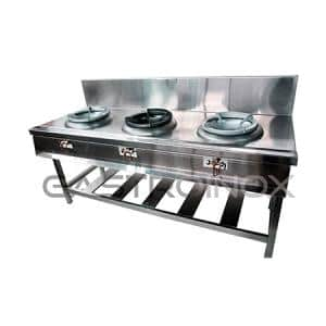 Cocina chifera de 3 wonk