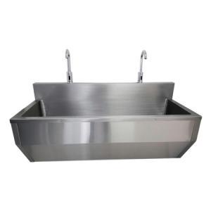 Lavamanos quirúrgico en acero inox